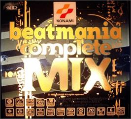 Arcade Cabinet Marquee for beatmania complete MIX.