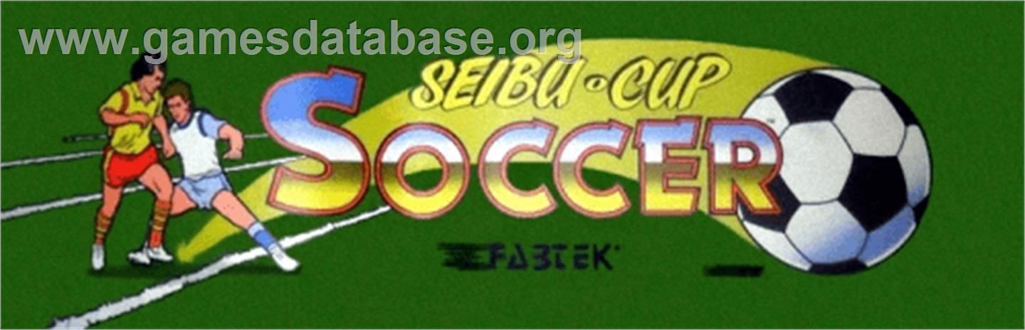 Seibu Cup Soccer :Selection: - Arcade - Artwork - Marquee