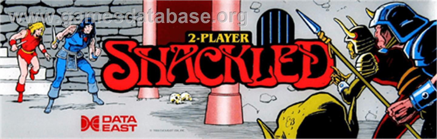Shackled - Arcade - Artwork - Marquee