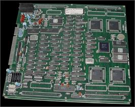 Printed Circuit Board for '88 Games.