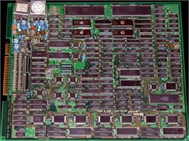 Printed Circuit Board for 64th. Street - A Detective Story.