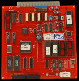Printed Circuit Board for Abacus.