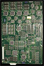 Printed Circuit Board for Ace Driver: Victory Lap.