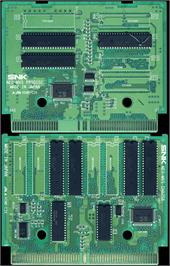 Printed Circuit Board for Aero Fighters 2 / Sonic Wings 2.