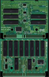 Printed Circuit Board for Art of Fighting 3 - The Path of the Warrior / Art of Fighting - Ryuuko no Ken Gaiden.