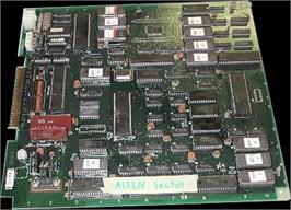 Printed Circuit Board for Baraduke.