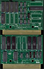 Printed Circuit Board for Baseball Stars Professional.