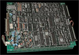Printed Circuit Board for Bermuda Triangle.