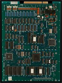 Printed Circuit Board for Bomber Man World / New Dyna Blaster - Global Quest.
