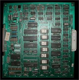 Printed Circuit Board for Bosconian.