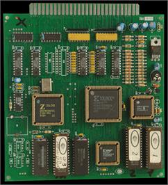 Printed Circuit Board for Champion Number.