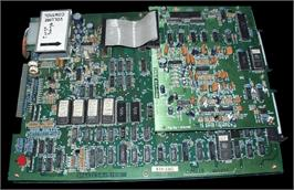 Printed Circuit Board for Congo Bongo.