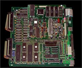 Printed Circuit Board for Continental Circus.