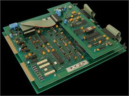 Printed Circuit Board for Cow Race.