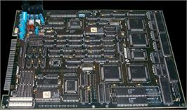 Printed Circuit Board for Crime Fighters 2.