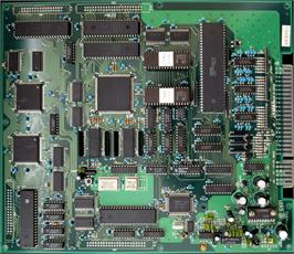 Printed Circuit Board for Dangun Feveron.
