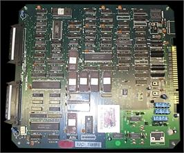 Printed Circuit Board for Double Dragon II - The Revenge.