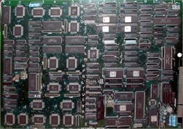 Printed Circuit Board for Dynamite Duke.