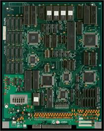 Printed Circuit Board for Euro Champ '92.