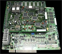 Printed Circuit Board for Fighters' Impact A.