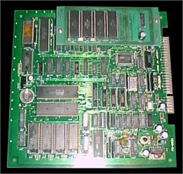 Printed Circuit Board for Gallop Racer.