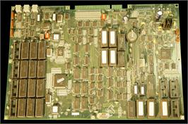 Printed Circuit Board for Golden Tee '99 Tournament.