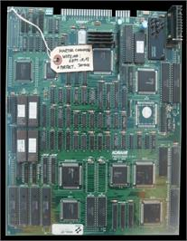 Printed Circuit Board for Martial Champion.