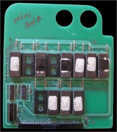 Printed Circuit Board for Mini Golf.