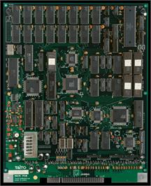 Printed Circuit Board for Mizubaku Daibouken.