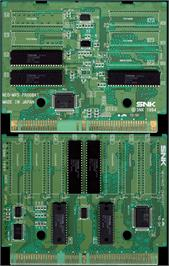 Printed Circuit Board for Neo-Geo Cup '98 - The Road to the Victory.