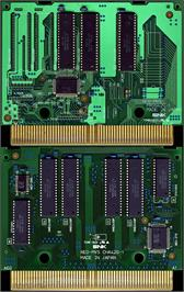 Printed Circuit Board for Ninja Commando.
