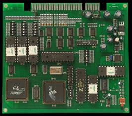 Printed Circuit Board for Number Dieci.