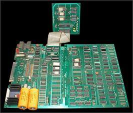 Printed Circuit Board for Pac-Gal.