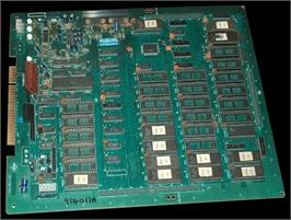 Printed Circuit Board for Pac-Mania.