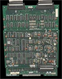 Printed Circuit Board for Pit & Run - F-1 Race.