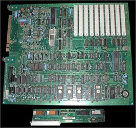 Printed Circuit Board for Pro Wrestling.