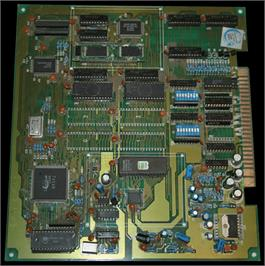 Printed Circuit Board for Puckman Pockimon.