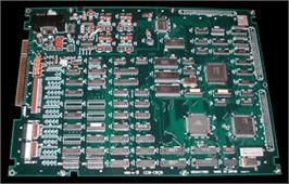 Printed Circuit Board for R-Type Leo.