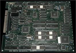 Printed Circuit Board for Raiden II / DX.