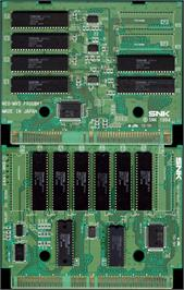 Printed Circuit Board for Real Bout Fatal Fury 2 - The Newcomers.