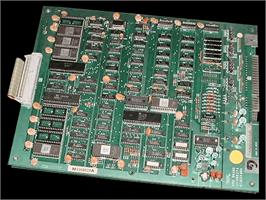 Printed Circuit Board for Return of the Invaders.