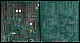 Printed Circuit Board for Saboten Bombers.