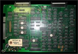 Printed Circuit Board for Section Z.
