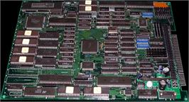 Printed Circuit Board for Seibu Cup Soccer.