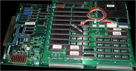 Printed Circuit Board for Street Fighter II': Champion Edition.