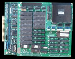 Printed Circuit Board for Street Fighter II: The World Warrior.