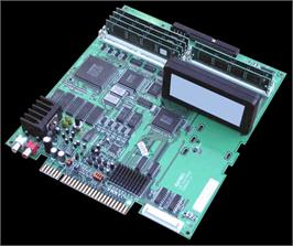 Printed Circuit Board for Street Fighter III 2nd Impact: Giant Attack.