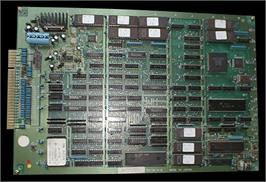 Printed Circuit Board for Super Buster Bros..