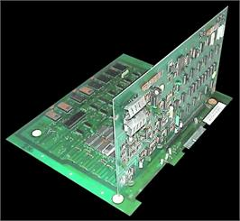 Printed Circuit Board for Super Invaders.