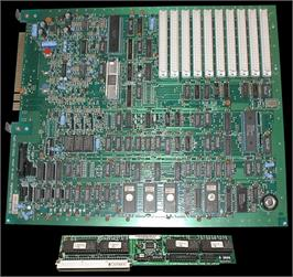 Printed Circuit Board for Super Mario Bros. 3.